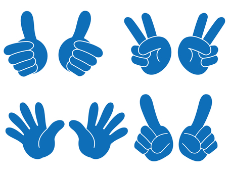 Hand sign 05