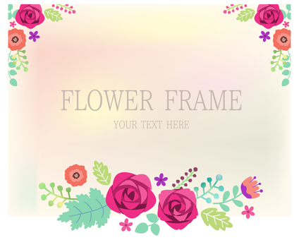 Rose and plant frame