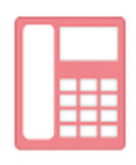 Telephone icon _ Sakura