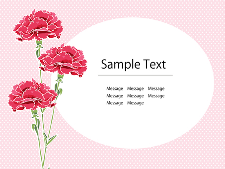 Carnation Postcard 02