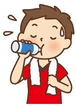 If you sweat, hydrate