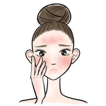 Female Skin Care Redness