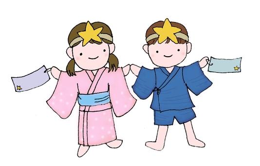 Tanabata Illustration 01