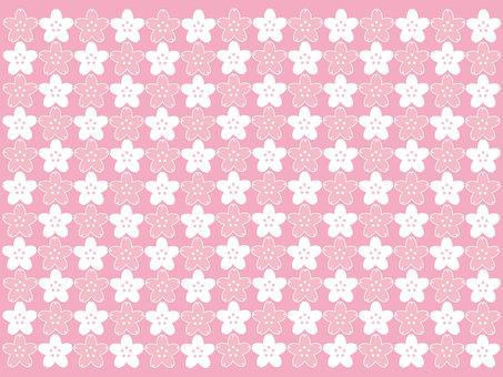 Cherry blossom pattern 3