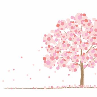 樱桃树的形象
