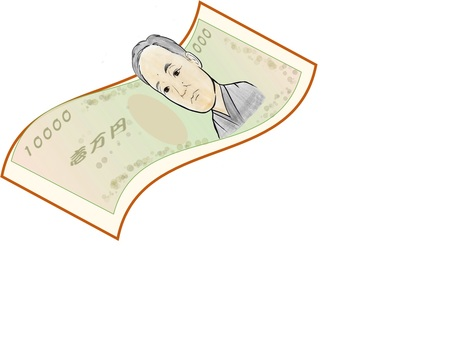 chacha 10,000 yen note