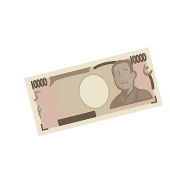 10000 yen bill