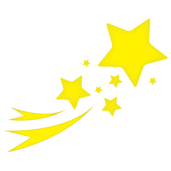 Twinkle star 3 _ yellow