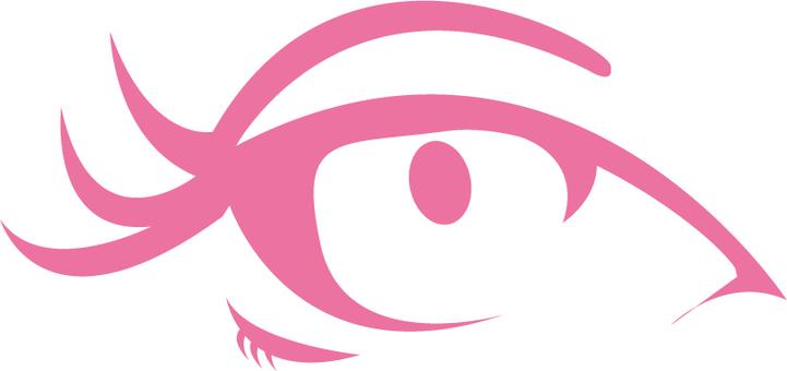 Free Illustration Eye Makeup A perfect woman's eyes