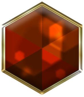Hexa jewel astringent persimmon