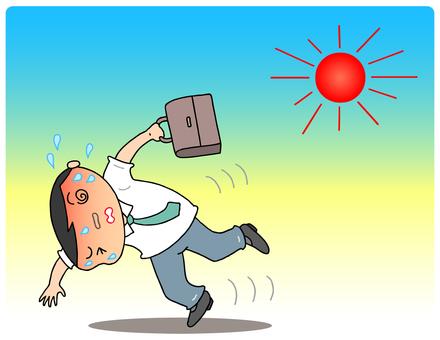 Heat stroke. 8