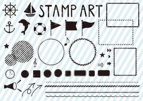 Stamp Art 2