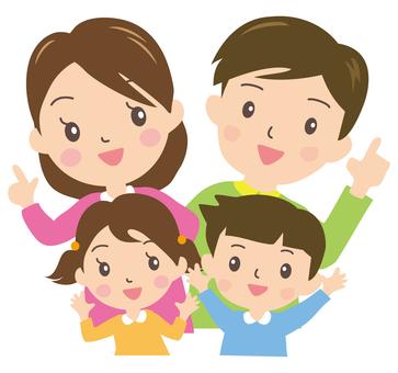 家庭的微笑