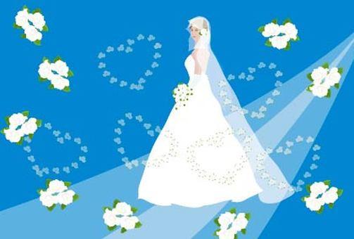 June Bridesmaid Bride Wedding Dress