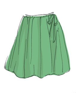 Clothing: Skirt