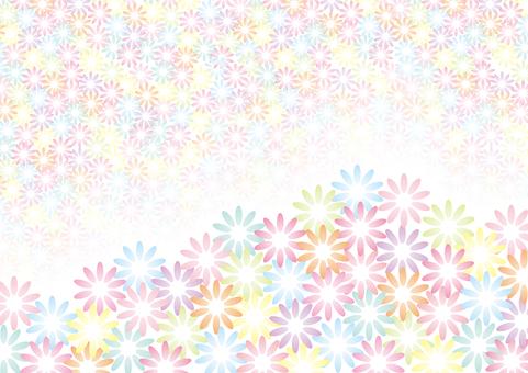 꽃 무늬 백 02