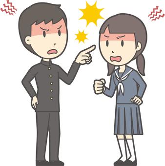 中学生男女セット-058-全身