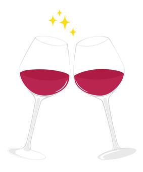 Wine glass Cheers