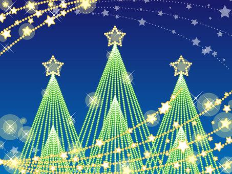 Christmas tree illumination