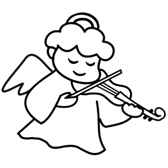 천사 바이올린