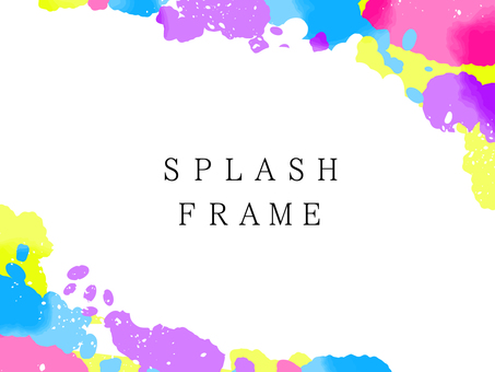Splash frame