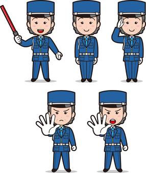 Security guard 2 (female · veteran)