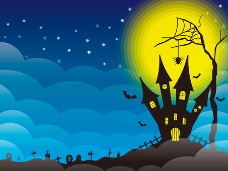 Halloween image 003 blue