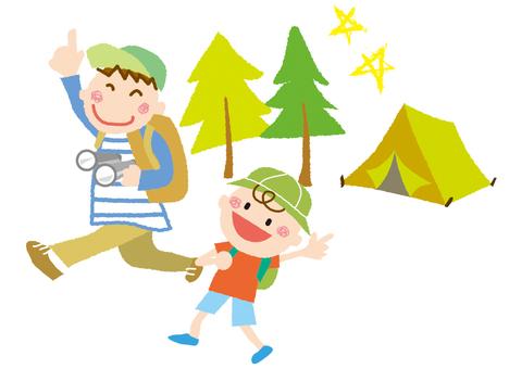 Parent and child adventure