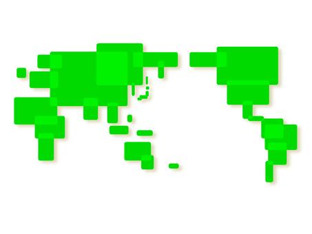 Image of world map 001