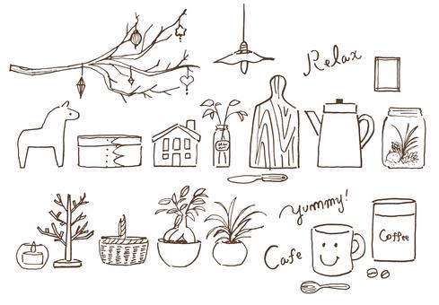 카페 휴식