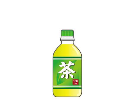 Plastic bottle tea (350ml)