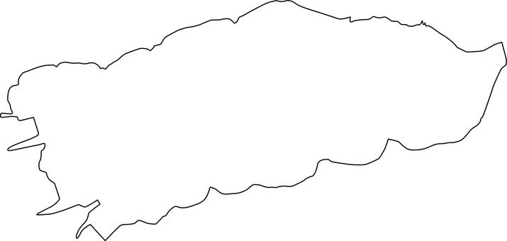 Lake Shinji _ line drawing