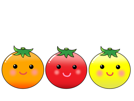 Three sisters of tomato