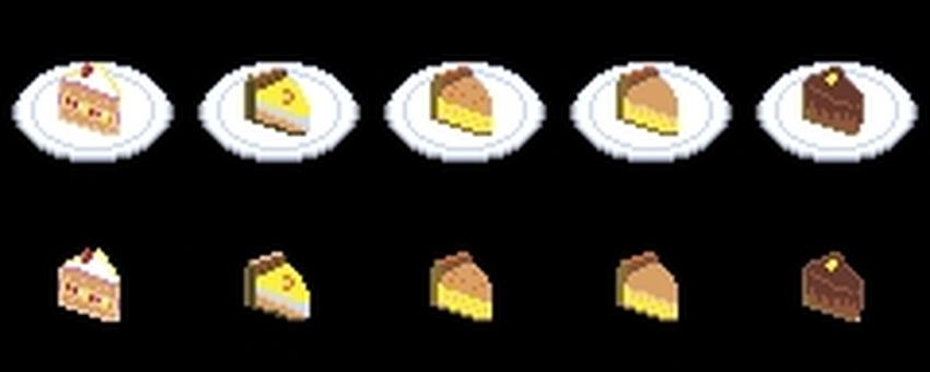 Dot picture cake set
