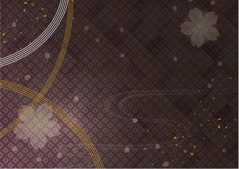 Japanese style background material 22