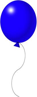 Balloon blue