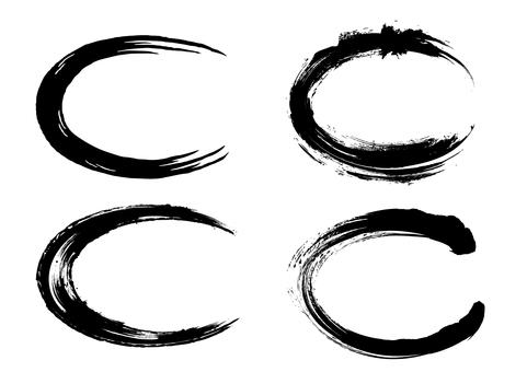 Ink ellipse