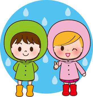 Children of the rainy season