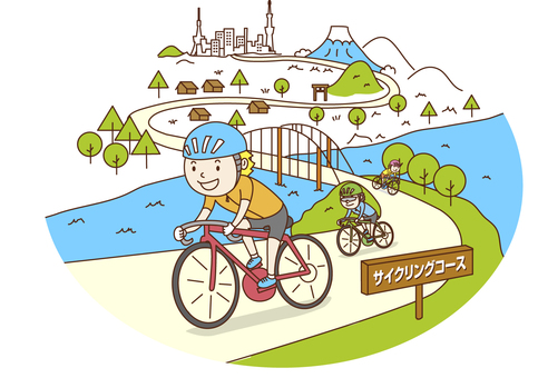 Bicycle touring / cycling