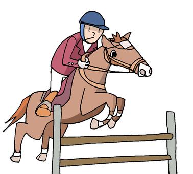 Horse riding ②