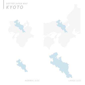 Dot map Kyoto 1