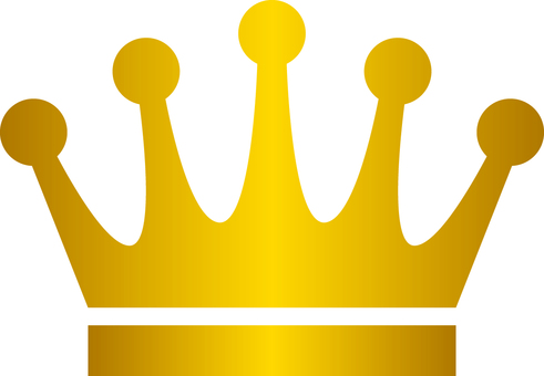Crown _ Silhouette _ gold