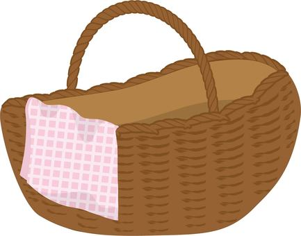 Picnic basket pink