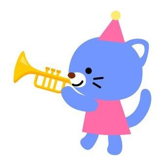 악기를 연주하는 동물