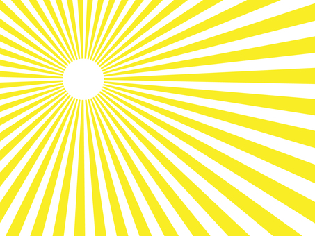 Yellow radiation background material 2