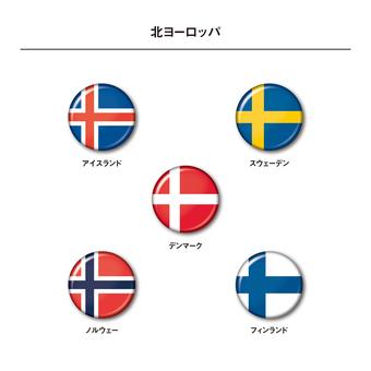 National flag (Northern Europe)