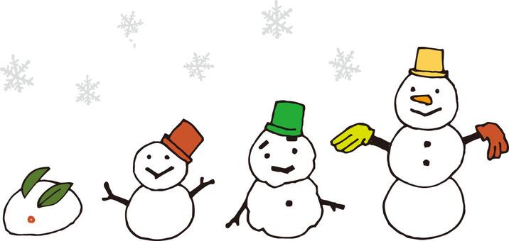 Snowman (tall)
