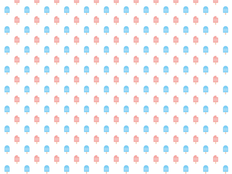Seamless pattern background of ice candy
