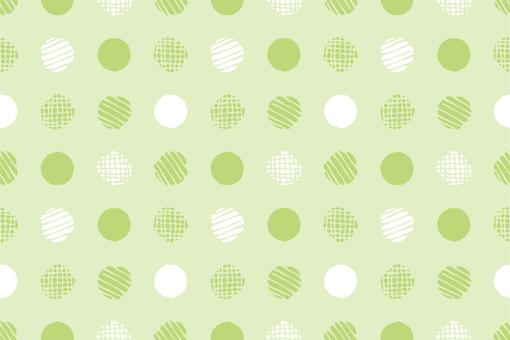 Pattern 79 Endless polka dots green
