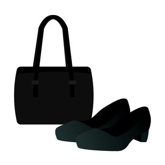 Bags and leather shoes (for women)